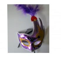 Карнавальная маска (цвет-ассорти)