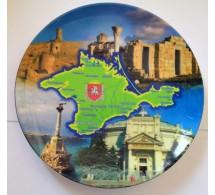 Тарелка сувенирная Крым