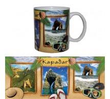 Чашка сувенирная Карадаг