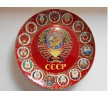 Тарелка сувенирная СССР