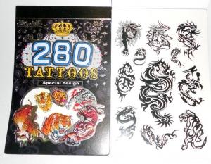 Книжечка набор татуировок (ассорти)
