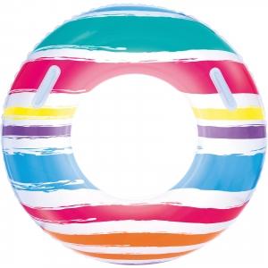 Плавательный круг с ручками